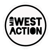 Midwest Action! logo